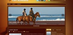 horseriding-blogger-template