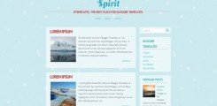 spirit-blogger-template